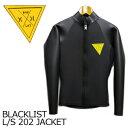 〔あす楽対応〕【ポイント10倍】Hurley,BLACK,LIST,ハーレー,ブラックリスト,ウェットスーツ,タッパー,長袖●BLACKLIST L/S 202 JACKET