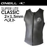 O'neill,オニール,ウェットスーツ,ベスト,タッパー,メンズ,men's model,17ss●SUPER LITE CLASSIC スーパーライトクラシック ベスト WF-1570