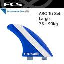 【送料無料】FCS,エフシーエス,フィン,アルメリック,ALMERRICK,AM-1 PC●ARC LARGE Tri Set