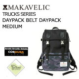 〔あす楽対応〕【送料無料】MAKAVELIC TRUCKS DOUBLE BELT DAYPAC MEDIUM BLACK/SHADOW-MULTI マキャベリック トラックス デイパック ブラック-シャド-マルチ