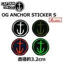 двд╣│┌ CAPTAIN FIN енеуе╫е╞еєе╒егеє е╣е╞е├елб╝ есб╝еы╩╪┬╨▒■▓─б№15ss ORIGINAL ANCHOR STICKER S ─╛╖┬╠є3.2cm