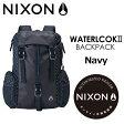 〔あす楽対応〕【送料無料】NIXON,ニクソン,バックパック,リュックサック●WATERLOCK II Navy