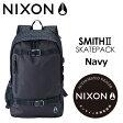 〔あす楽対応〕NIXON,ニクソン,バックパック,リュックサック●Smith II Navy