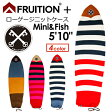 FRUITION,フリュージョン,ボードケース,ニットケース,レトロ,16ss●FRUITION PLUS LOW GAUGE KNIT 5'10'' Mini & Fish