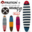 FRUITION,フリュージョン,ニットケース,ミッドレングス,ファンボード●FRUITION PLUS LOW GAUGE KNIT 7'2'' Mid & Fun
