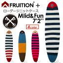 FRUITION,フリュージョン,ニットケース,ミッドレングス,ファンボード●FRUITION PLUS LOW GAUGE KNIT 7'2'' Mid & ...