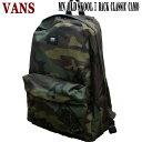 VANS/バンズ ヴァンズ OLD SKOOL 2 CLASSIC BACKPACK CAMO 鞄 リュック バックパック