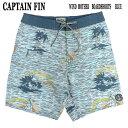 ショッピング水 値下げしました!CAPTAIN FIN/キャプテンフィン WIND MOTHER BOARDSHORTS BLUE 男性用水着_海パン/海水パンツ サーフパンツ ボードショーツ