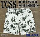TCSS メンズ サーフパンツ BOO WHO TRUNK BLANC _サーフィン男性用水着_海パン/海水パンツ_02P01Oct16