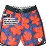 VANS/バンズ メンズ サーフパンツ/ボードショーツ/サーフトランクス PLANETARY BOARDSHORTS POP FLORAL サーフィン男性用水着 海パン 海水パンツ_P20Aug16