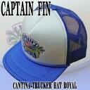 ショッピングハット 値下げしました!CAPTAIN FIN/キャプテンフィン CANTINA トラッカー TRUCKER HAT ROYAL CAP/キャップ HAT/ハット 帽子
