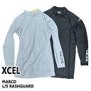 楽天サーフィンワールド楽天市場店値下げしました!XCEL/エクセル メンズ 長袖 ラッシュガード MARCO L/S RASH GUARD UPF50+ サーフィン 男性用 UVカット_02P01Oct16