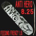ANTI HERO/アンタイヒーロー FEEDING FRENZY LARGE 8.25 スケボーDECK SK8 スケートボード/スケボーデッキ SK8