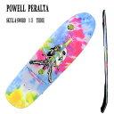 POWELL PERALTA/パウエルペラルタ SKULL & SWORD TIE DYE 8.5 スケートボード デッキ/SKATE BOARDS DECKSスケボー SK8_02P01Oct16