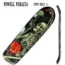 POWELL PERALTA/パウエルペラルタ HIPPIE SKELLY FUN SHAPE 8.4 スケートボード デッキ/SKATE BOARDS DECKSスケボー SK8_02P01Oct16