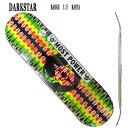 DARK STAR/ダークスター スケートボードデッキ BADGE RHM RASTA 8.25 DECK スケボーSK8