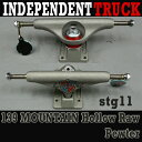 INDEPENDENT/インデペンデントトラック139 STAGE11 MOUNTAIN HOLLOW RAW PEWTER TRUCKS STANDARD I...