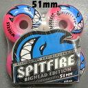 SPIT FIRE/スピットファイヤー BIGHEAD SEIZURE SWIRL 51mm スケートボード WHEEL/ウィール スケボー SK8