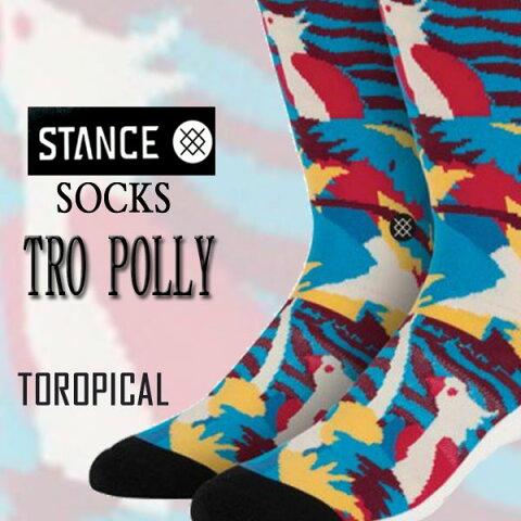 STANCE/スタンス メンズ ソックス POLLY SOCK スケーターソックス 男性靴下_02P01Oct16