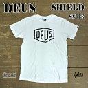 DEUS EX MACHINA/デウス エクス マキナ 半袖Tシャツ SHIELD S/S TEE WHITE_02P01Oct16