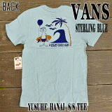 VANS/�Х� Ⱦµ T����� YUSUKE HANAI TEE ��� ������ S/S TEE Sterling Blue_02P28Sep16