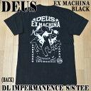 値下げしました!DEUS EX MACHINA/デウス エクス マキナ DL IMPERMANENCE S/S TEE BLACK メンズ半袖Tシャツ 男性用 T-SHIRTS