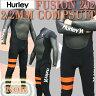 HURLEY/ハーレー 2/2mm ノンジップフルスーツ FUSION COMP ウェットスーツNOR 2014_送料無料サーフィン用 最上級 ノンジップウエット_02P18Jun16