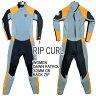 レディース用 RIP CURL/リップカール DAWNPATROL BACK ZIP SLATE ORANGE ウェットスーツ3/2 GBタイプ