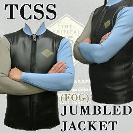 TCSS/TheCriticalSlideSociety/ザクリティカルスライドソサイエティ長袖タッパーJUMBLEDJACKETL/SFOG送料無料男性用ウェットスーツ/ウエットスーツメンズ