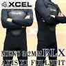 XCEL/エクセル 3/2mm AXIS X1 フルスーツ WET SUITS/ウェットスーツ BLX送料無料_02P18Jun16