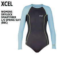値下げしました!XCEL/エクセル DRYLOCK SMARTFIBER L/S SPRINGSUIT BBC レディース用 バックジップ 女性用 ボディスーツ 水着の画像