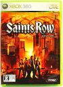 【中古】XBOX360ソフト Saints Row