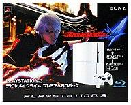 PS3 hard PS 3 books of Devil May Cry 4 Premium BD Pack (40 GB ceramic white)