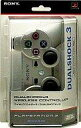 [used] PS3 hardware wireless controller DUALSHOCK3 satin silver [10P11Jun13] [image]