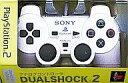 【中古】PS2ハード アナログコントローラ (DUALSHOCK 2) セラミック・ホワイト【画】