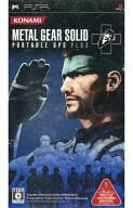 PSP software METAL GEAR SOLID PORTABLE OPS+fs3gm