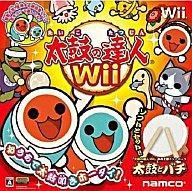 【中古】Wiiハード 太鼓の達人Wii[太鼓、バチ同梱版]