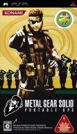 PSP software METAL GEAR SOLID PORTABLE OPSfs3gm