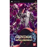 PSP software GUNDAM battle chronicle