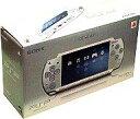 【中古】PSPハード PSP本体 [アイス・シルバー]