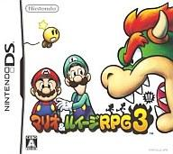 Nintendo DS software Mario & Luigi RPG3