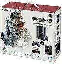 【中古】PS3ハード メタルギアソリッド4 WELCOME BOX with DUALSHOCK 3(40GB)クリア・ブラック【02P03Dec16】【画】