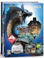 Wii soft MONSTER HUNTER 3 Tri-classic controller PRO Pack