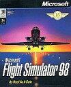 【中古】Windows98/Me/2000 CDソフト Microsoft Flight Simulator 98 [海外版]