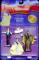 "Figure skating Dimitri/Anastasia/Rasputin with Bartok set ""Anastasia Collectible Figures"""