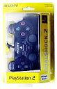 【中古】PS2ハード アナログコントローラ (DUALSHOCK 2) ミッドナイトブラック【02P01Oct16】【画】