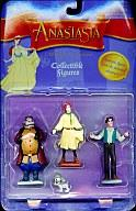 Figure Vladimir/Dimitri/Anastasia/Pooka set ' Anastasia Collectible Figures