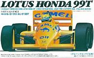 Plastic model plastic model 1 / 43 camel Lotus Honda 99t GP 'f-1 series NO.3