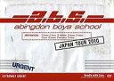 【中古】邦楽DVD abingdon boys school / ジャパンツア-2010