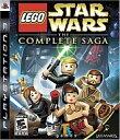 【中古】PS3ソフト 北米版 LEGO STAR WARS THE COMPLETE SAGA (国内版本体動作可)